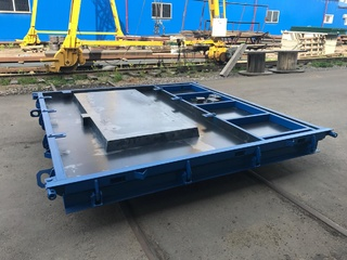 Steel moulds for lift shaft
