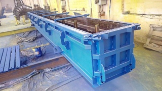 T-beam steel moulds