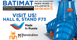 M-Konstruktor will be present at the Batimat Show 2019 in France