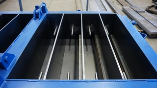 Stair steel moulds