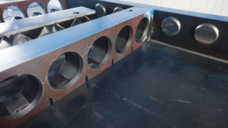 Intermediate concrete slab concrete moulds