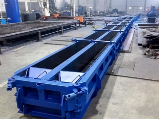 Pile steel moulds