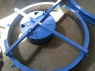 KC well rings steel moulds