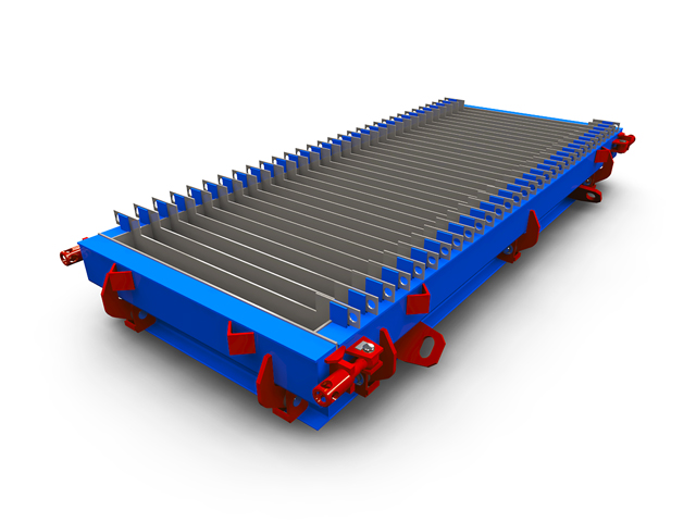 Road kerbs steel moulds